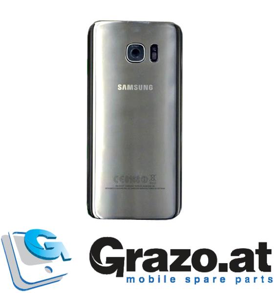 online store 97b13 6b1ff Samsung Galaxy S7 EDGE (SM-G935F) - Original Back Cover SILVER ...