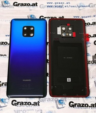 Huawei Mate 20 Pro - Original Back Cover TWILIGHT - 02352GDG