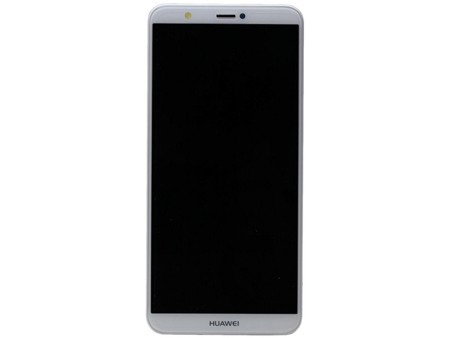 Huawei P Smart - Original Display LCD + Touch + Frame - WEISS - 02351SVE