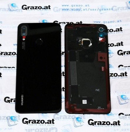Huawei P Smart Plus - Original Back Cover - BLACK - 02352CAH