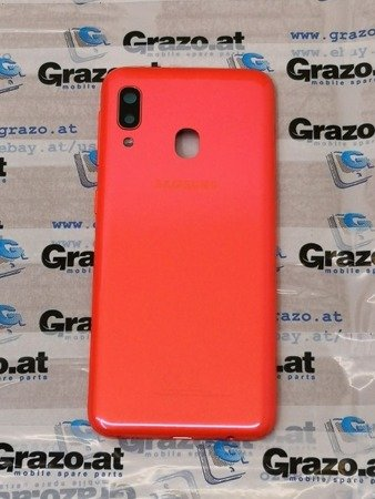 Samsung Galaxy A20e (SM-A202F) - Original Back Cover - CORAL / ORANGE - GH82-20125D