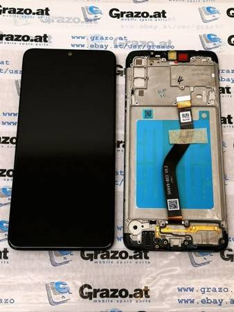 Samsung Galaxy A20s (SM-A207F) - Original Display LCD + Touchscreen BLACK
