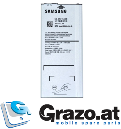 Samsung Galaxy A5 2016 (SM-A510F) - Original Battery Li-Ion EB-BA510ABE 2900mAh