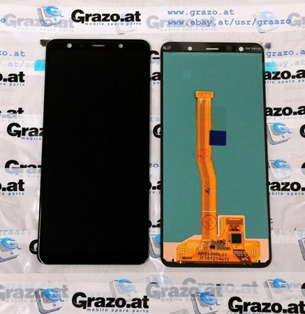 Samsung Galaxy A7 2018 (SM-A750F) - Original  Display LCD + Touchscreen BLACK