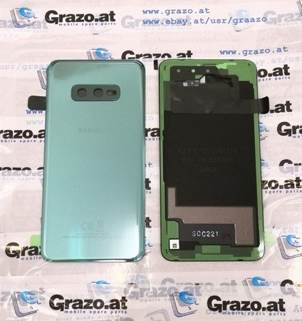 Samsung Galaxy S10e (SM-G970F) - Back Cover - GREEN