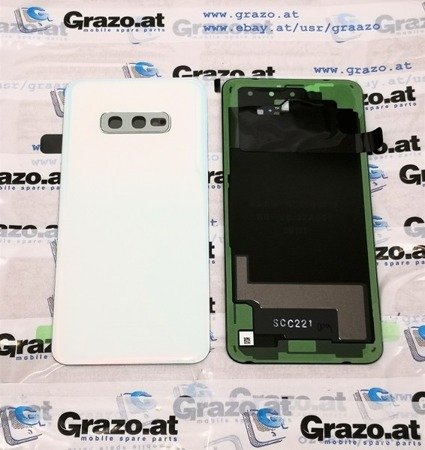 Samsung Galaxy S10e (SM-G970F) - Back Cover - WHITE