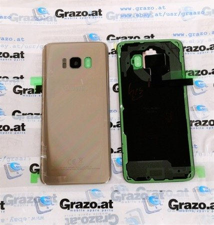 Samsung Galaxy S8 (SM-G950F) - Original Back Cover GOLD