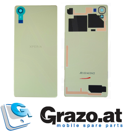 Sony Xperia X (F5121) - Original Back Cover Rear Cover LIME GOLD