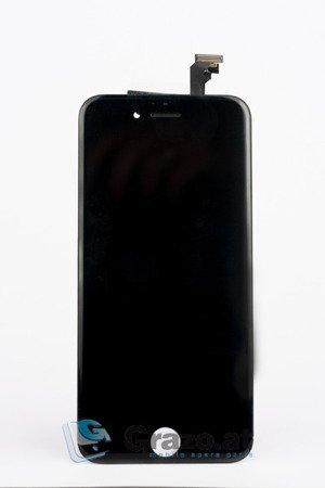 iPhone 6 - Complete Display LCD + Front Frame + Touchscreen BLACK - Grade AAA