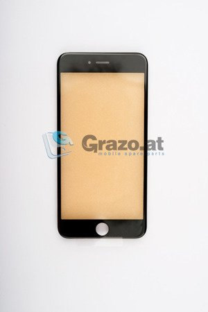 iPhone 6 Plus - Display Glas with Frame BLACK