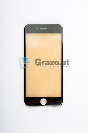 iPhone 6S - Display Glas with Frame BLACK
