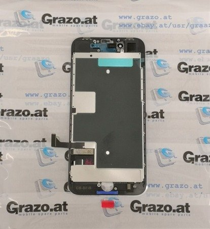 iPhone 8 - OEM REFURBISHED- Complete Display LCD + Front Frame + Touchscreen BLACK