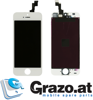 iPhone 5S - Complete Display LCD + Front Frame + Touchscreen WHITE - Grade AAA
