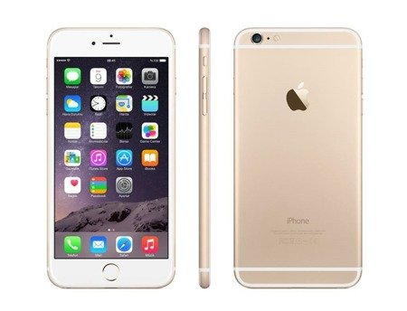 Apple iPhone 6s (64GB) - white / gold - refurbished as new
