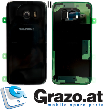 Samsung Galaxy S7 EDGE (SM-G935F) - Original Back Cover BLACK