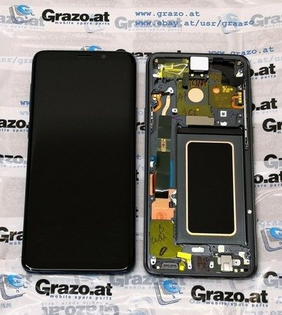 Samsung Galaxy S9 + (SM-G965F) - Original Display LCD GRAU
