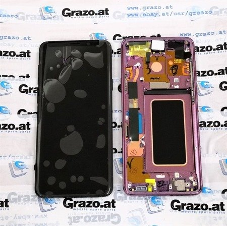 Samsung Galaxy S9 + (SM-G965F) - Original Display LCD VIOLETT