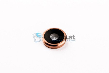 iPhone 6 / 6S - Camera lens with Frame ROSE GOLD