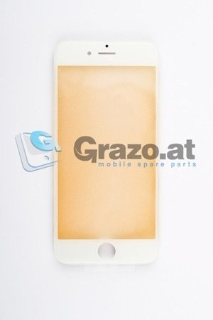 iPhone 6S - Display Glas with Frame WHITE