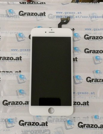 iPhone 6S Plus - OEM REFURBISHED - Komplett Display LCD + Front Rahmen + Touchscreen WEISS