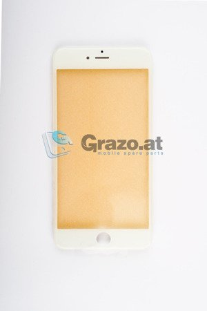 iPhone 6S Plus - Display Glas with frame WHITE