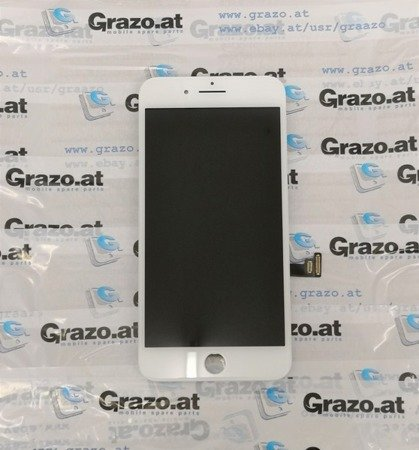 iPhone 7 Plus - OEM REFURBISHED (LG) - Komplett Display LCD + Front Rahmen + Touchscreen WEISS