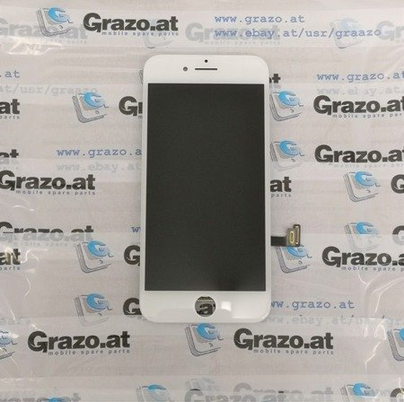 iPhone 8 - OEM REFURBISHED - Komplett Display LCD + Front Rahmen + Touchscreen WEISS